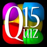 Quiz15 on the AppStore